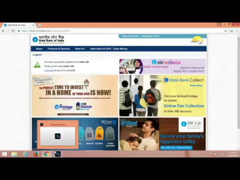 How to transfer Money SBI to Other bank (Hindi)