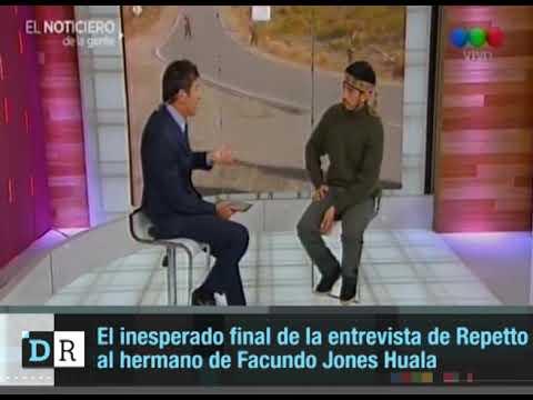 Polémica por la entrevista de Nicolás Repetto encapuchado junto a Jones Huala