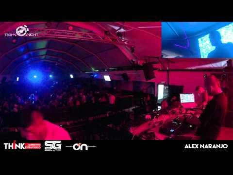 ALEX NARANJO 18/04/2015 - TECHNO NIGHT LIVE: PARADISE PEREIRA (COL)