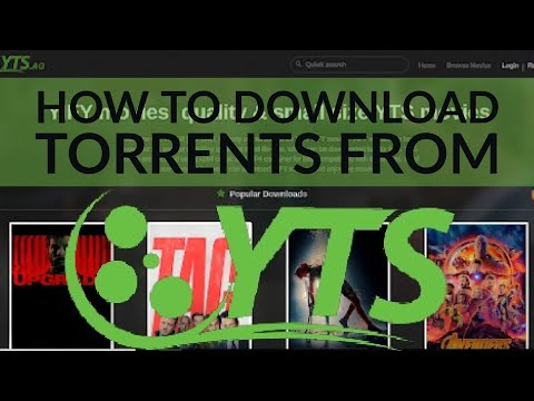 How To DOWNLOAD TORRENTS FROM YTS