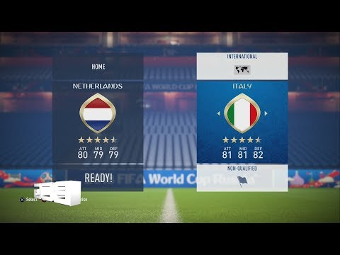 Fifa 18 Russia World Cup NonQualified Teams Ratings & Kits