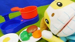 しまじろう おとでなりきりキッチンセット はみがきもきちんとね! ❤アンパンマン おもちゃアニメ Toy Kids トイキッズ animation anpanman thumbnail