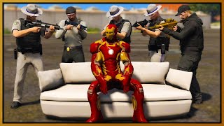 GTA 5 Roleplay - IRON MAN DESTROYS COPS | RedlineRP