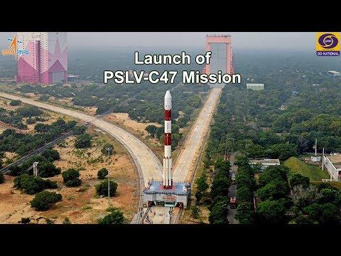 Launch of PSLV-C47 carrying CARTOSAT -3 Satellite  – from Satish Dhawan Space Centre, Sriharikota