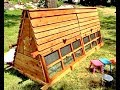 Beautiful 10 foot long and 5 foot tall Chicken Coops for 3~15 chickens