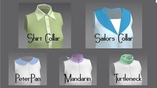 Modeling Collars in Marvelous Designer