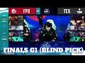 FunPlus Phoenix Vs Top Esports - Game 1 | Finals 2020 LoL Mid Season Cup | FPX Vs TES G1