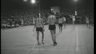 """ליגה לאומית 1961 מח' 16: הפועל ת""""א - מכבי ת""""א 58:61"""