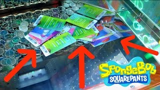 CRAZIEST COIN PUSHER JACKPOT EVER!!!