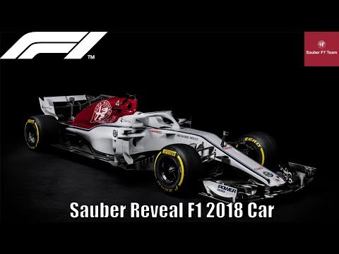 Sauber Officially Reveal F1 2018 Car