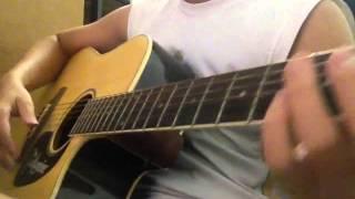 Hướng dẫn guitar Yếu đuối - Hoàng Dũng
