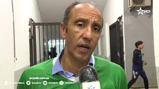🎙️| #جواد الزيات رئيس نادي  #الرجاءالرياضي بعد تحقيق اللقب 12 بالدوري الإحترافي