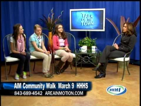 WHHI-TV's Talk Of The Town | AIM Project Unifiy | Hilton Head Island Middle School | 2/26/13