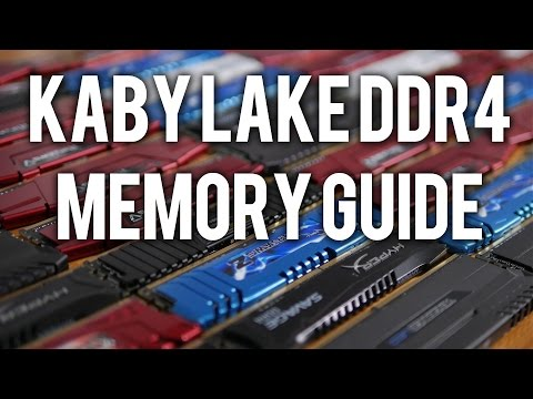 Kaby Lake DDR4 Memory Guide, Scaling Performance Tested