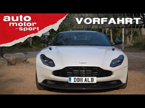 Aston Martin DB11 V8– Vorfahrt| auto motor und sport