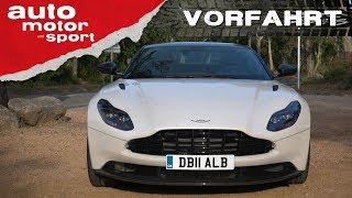 Aston Martin DB11 V8– Vorfahrt| auto motor und sport アストンマーチンdb11 検索動画 29