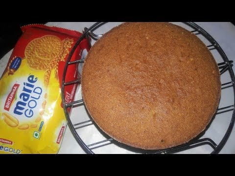 EASY MARIE BISCUIT CAKE WITHOUT OVEN || 4 INGREDIENTS CAKE|| #CANDIDBERRY