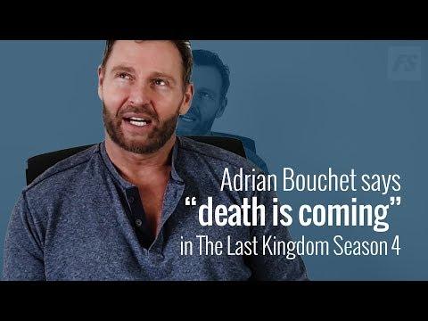 """Adrian Bouchet (Steapa): """"Death is coming"""" in The Last Kingdom season 4"""