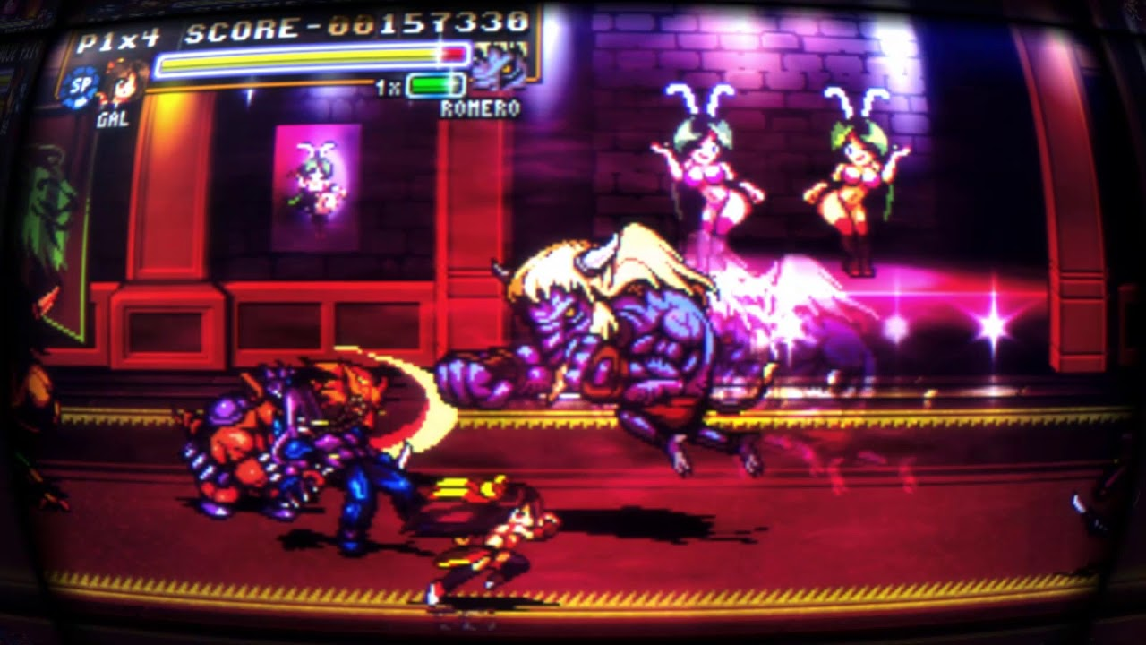 Fight'N Rage: Gal pre-release gameplay preview