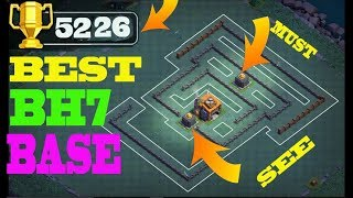 Best Builder Hall 7 Base | BH7 Builder Base + Defense Replay | Clash Of Clans-#FUN