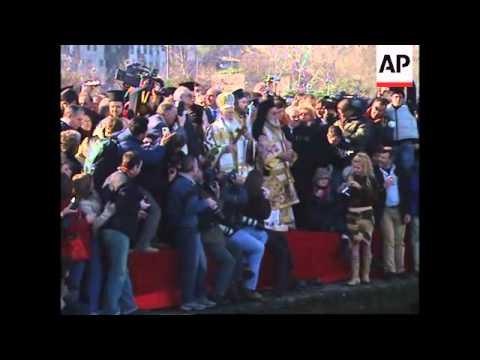 Church ceremony, Patriarch, protest