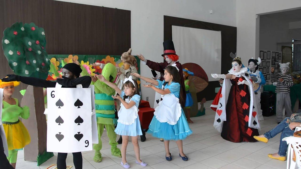 Musical Dia Dos Pais Evangelica: Apresentação Do Musical Alice No País Das Maravilhas