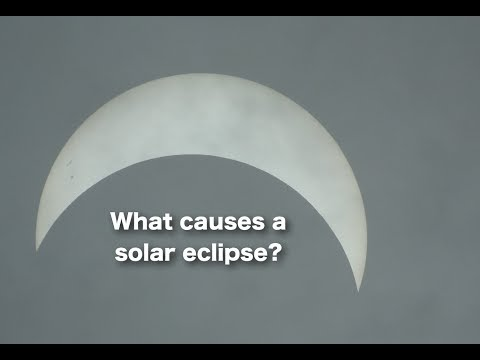 Why don't we see the moon during a solar eclipse?  #FlatEarth