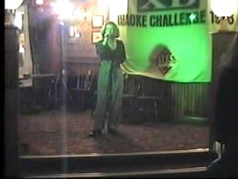 yates karaoke final at preston early 1990s !!!!!!!!