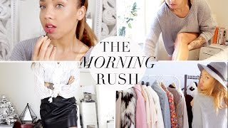 THE MORNING RUSH | My Getting Ready Routine!