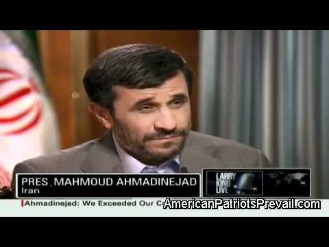 Ahmadinejad Blasts President Obama And Warns Israel