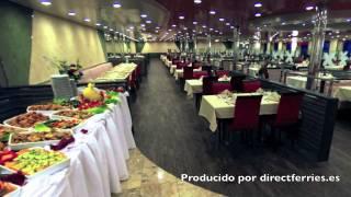 A bordo del ferry Cruise Barcelona de Grimaldi Lines
