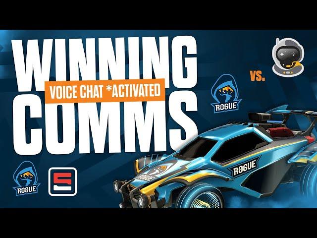 We beat SSG?! | Rogue RL Comms