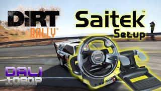 DiRT Rally | Saitek R440F Steering Wheel Setup + Drivers | Requested video