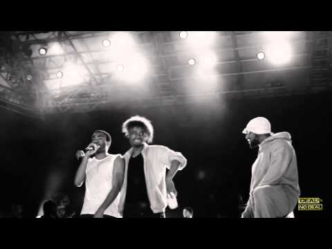 Danny Brown, Childish Gambino & ScHoolboy Q Freestyle In Prospect Park!
