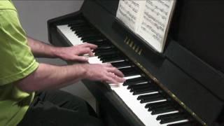 Bach 2 Part Inventions No.12 Paul Barton, piano