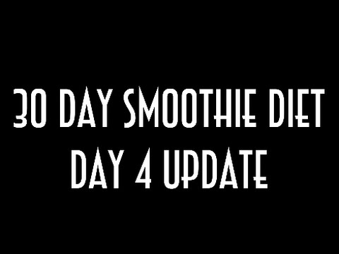 30 Day Smoothie Diet Day 4 Weigh In, What I Ate At Chilis + Calories