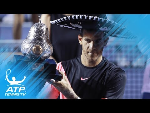 Del Potro victorious over Anderson | Final Highlights from Acapulco