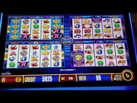 LIVE PLAY on Wonder 4 Slot machine - Miss Kitty & Buffalo Deluxe - 6/8/17