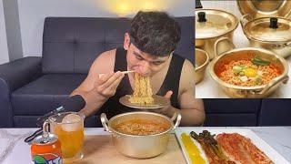한국사람들은 왜 양은냄비에 라면 끓여먹을까요? KORE…