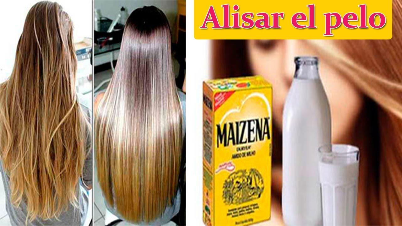 Como alisar el cabello naturalmente con crema de maizena for La mejor receta casera para hidratar el pelo seco
