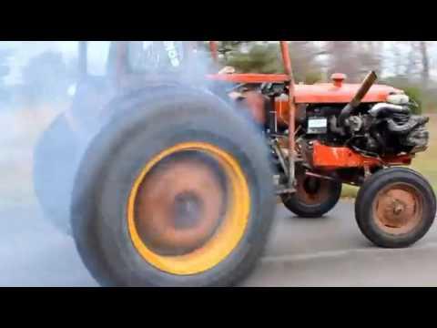 мотор от Феррари в тракторе