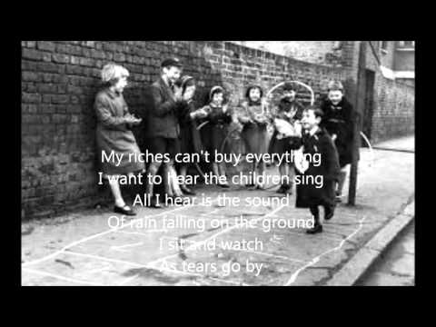 As Tears Go By by The Rolling Stones (cover) with lyrics