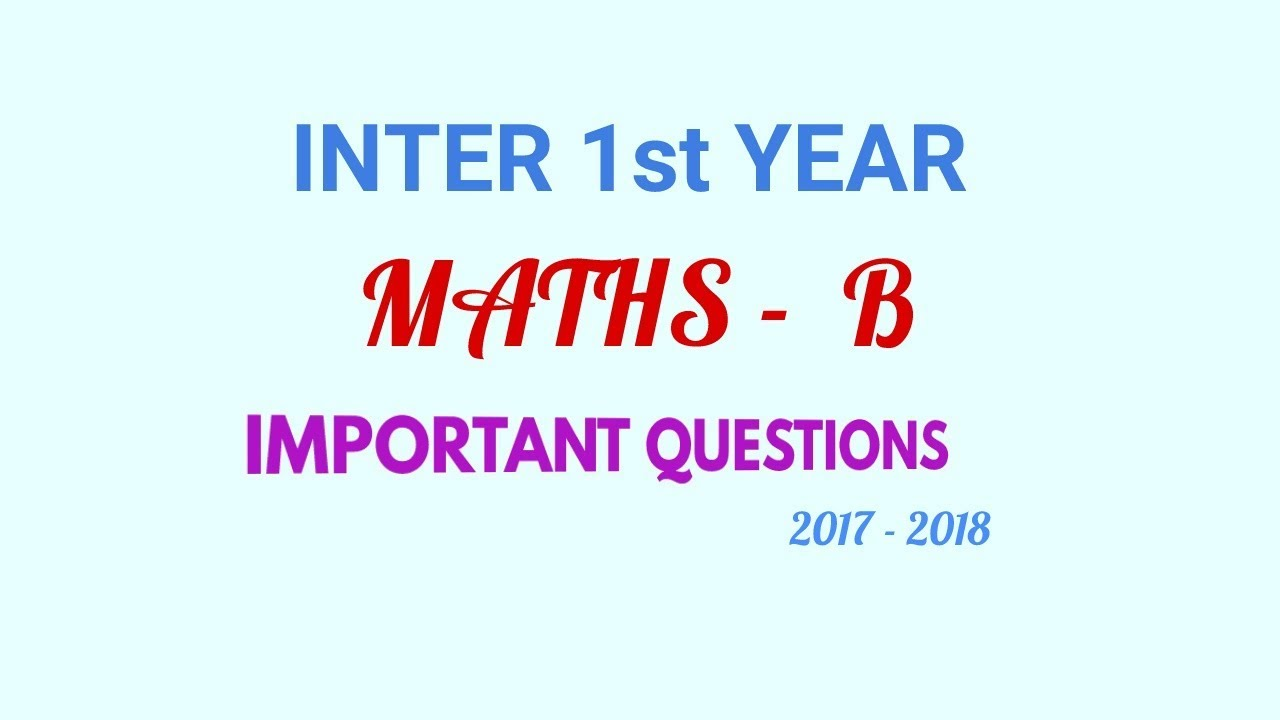 Buy text book for intermediate first year mathematics paper 1b.