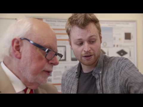 What's it like to meet a Nobel Prize winning chemist?