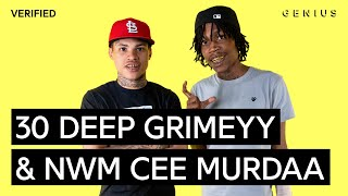 "30 Deep Grimeyy & NWM Cee Murdaa ""NoCap"" Official Lyrics & Meaning 