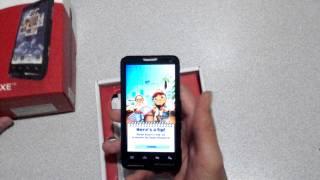 Motorola Motoluxe Türkçe Tanıtım Performans