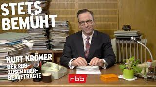 Kurt Krömer – Stets bemüht