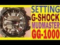 Setting Casio G-Shock MUDMASTER GG-1000-1A manual for use