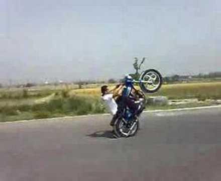 bike stund