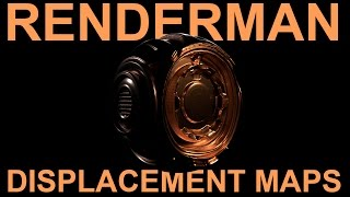 Renderman 21 Displacement Maps with zBrush Tutorial
